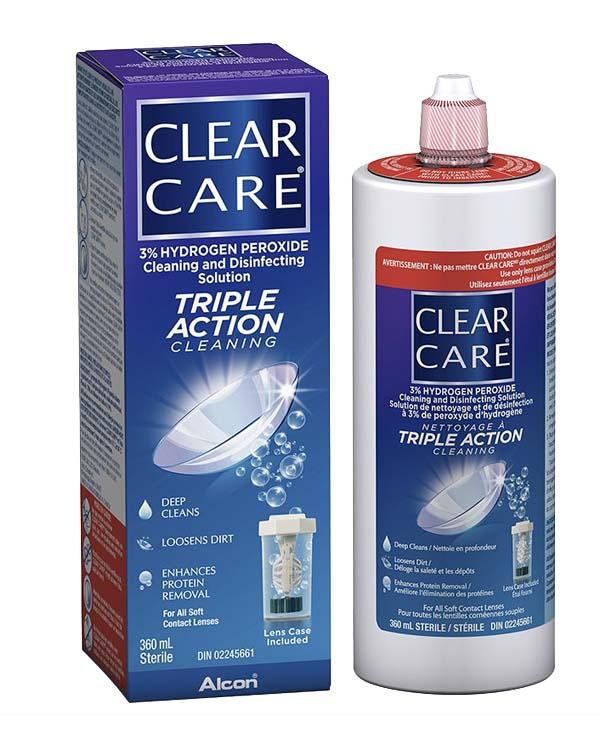 加拿大Clear Care 隐形眼镜清洁护理液2套装 2*360ml