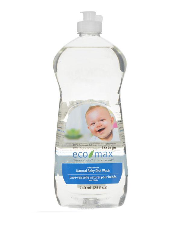 ECO-MAX 天然婴儿餐具洗洁精 740ml