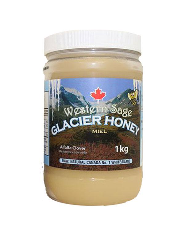 加拿大冰川蜂蜜-最畅销品 1kg Western Sage