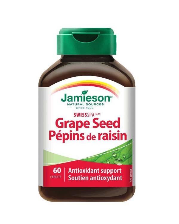 加拿大产健美生天然葡萄籽 60粒装