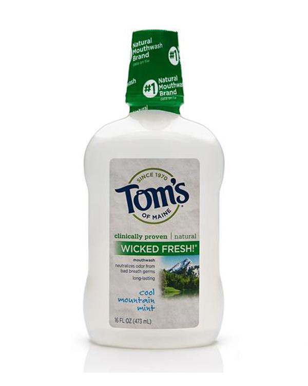 Tom's无酒精薄荷味漱口水 473ml