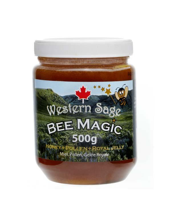 加拿大原产蜂王浆花粉蜜 500g Western Sage